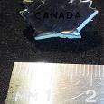 Отдается в дар Значок «CANADA — кленовый лист» времён СССР