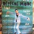 Отдается в дар Календарь Depeche Mode 2019-2020