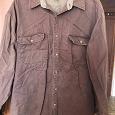 Отдается в дар Мужская рубашка большого размера, 50-52