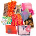Отдается в дар Набор женских платков и шарфиков.