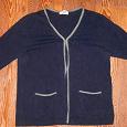 Отдается в дар Жакет синий ,S -на 44-46 размер