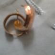 Отдается в дар золотые серьги