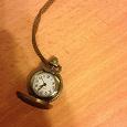 Отдается в дар Кулон-часы с цепью под бронзу