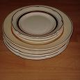 Отдается в дар посуда из СССР: тарелки ЗИК + селедочница