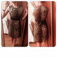 Отдается в дар Платье вечернее леопардовое 44-46 размер