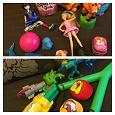 Отдается в дар Небольшие игрушки для мальчика и девочки