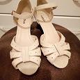 Отдается в дар Туфли 39 размера испанские