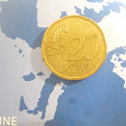 Отдается в дар 20 евроцентов Франция