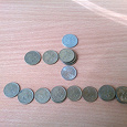Отдается в дар Монеты СПМД в погодовку РФ