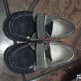 Отдается в дар мокасины ботинки 22 размер