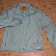 Отдается в дар Куртка нежно-голубого цвета