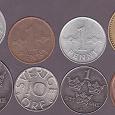 Отдается в дар Монеты Финляндии и Швеции