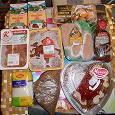 Отдается в дар СВЕЖИЕ продукты, в том числе мясные ( не для вегетарианцев ).