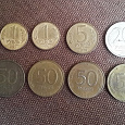 Отдается в дар Монеты Банка России 1992-1993 год