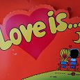Отдается в дар Вкладыши от жевательных резинок Love Is…