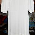 Отдается в дар Платье белое. Ретро.