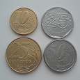 Отдается в дар Монеты Бразилии
