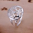 Отдается в дар Новое серебряное кольцо 925 проба, размер 17,5