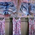 Отдается в дар Шорты джинсовые женские и сарафан 46 р.