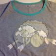 Отдается в дар Майка-футболка для кормящей мамы 48 размера