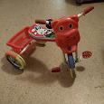 Отдается в дар Детский маленький трехколёсный велосипед