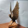 Отдается в дар Деревянная статуэтка орёл, времён СССР