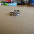 Отдается в дар кольцо серебро