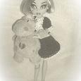 Отдается в дар платье для кукол Monster High
