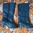Отдается в дар синие сапоги демисезонные 37,5