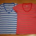 Отдается в дар 2 женские футболки 46 размера