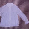 Отдается в дар Школьная блузка на 7 лет