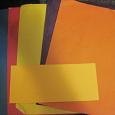 Отдается в дар цветная бумага