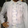 Отдается в дар Блузка-рубашка для девочки 7-8лет в школу