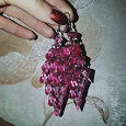 Отдается в дар Розовые серьги (бижутерия)