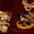 Отдается в дар Фигурки мышат.