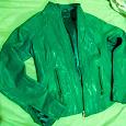 Отдается в дар Куртка, натуральная кожа, зеленый цвет, размер 44