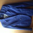 Отдается в дар Пиджак синий hm, размер xs
