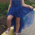 Отдается в дар Платье нарядное девичье на рост до 140