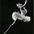 Отдается в дар открытка рекламная. балет.