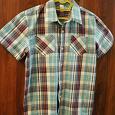 Отдается в дар Рубашка летняя для мальчика, рост 146-152