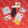 Отдается в дар Пакет сим карты джинс с «конфетти» + чехол от телефона