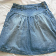 Отдается в дар Джинсовая юбка, размер 40-42