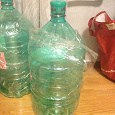 Отдается в дар Одноразовые 19-литровые бутылки