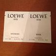 Отдается в дар Парфюм пробники Loewe