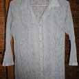 Отдается в дар Замечательная хлопковая женская рубашка сиреневого цвета, рукова 3/4, размер 48-50, рост 165-170см, в отличном состоянии.