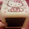 Отдается в дар Электронные часы Hello Kitty