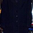 Отдается в дар пальто черное