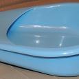 Отдается в дар судно новое синее полимерное для лежачих больных