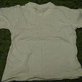 Отдается в дар белая детская футболка на рост 110 см