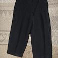 Отдается в дар Дарю брюки для мальчика черные на рост 104-110 см